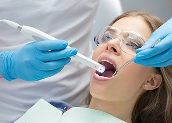 Capturing images of patient's teeth